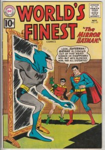 World's Finest #121 (Nov-61) VF+ High-Grade Superman, Batman, Robin