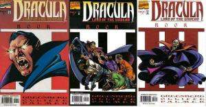 DRACULA LORD OF THE UNDEAD (1998) 1-3  COMPLETE!
