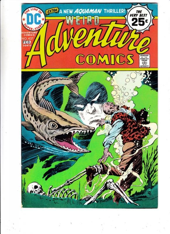 Adventure Comics #437 (Feb-75) VF/NM High-Grade The Spectre