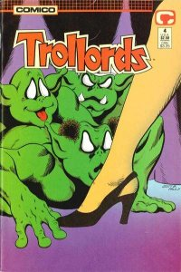 Trollords (1988 series) #4, NM (Stock photo)