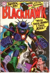 BLACKHAWK 232 VG-F May 1967 COMICS BOOK