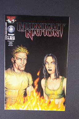 Midnight Nation #4 January 2001 1st Printing j. Michael Stra