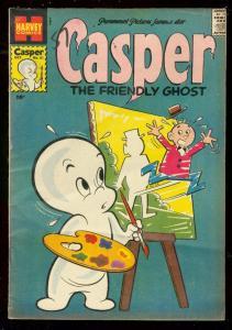 CASPER THE FRIENDLY GHOST #61 1957-HARVEY-1ST SERIES- VG