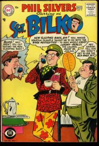 SERGEANT BILKO #3-PHIL SILVERS-CBS TV COMEDY DC-1957 VF