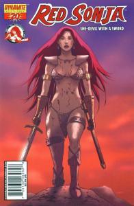 Red Sonja #20 (Dynamite Entertainment) - Jonathan Luna Cover