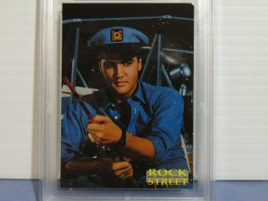 1993 Rockstreet Elvis Presley Prototype Photo Promo Card - GMA Graded NM-MT 8