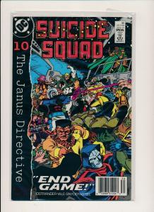 DC Comics SUICIDE SQUAD #30 The Janus Directive 1989 ~  VF (PF565)
