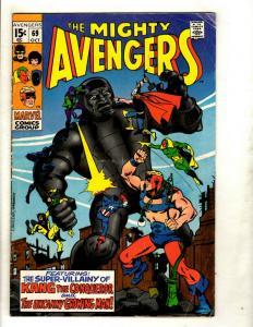 Avengers # 69 VG/FN Marvel Comic Book Hulk Thor Iron Man Captain America GK2