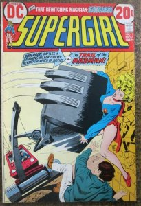 SUPERGIRL #1 (DC, 11/1972) VERY GOOD PLUS (VG+)  Wein, Wolfman, Bates!