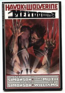 Havok and Wolverine: Meltdown #3 1988 Simonson art-comic book
