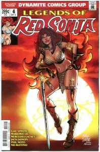 LEGENDS of RED SONJA #4, NM-, She-Devil, Sword,  Thorne, 2013, more RS in store