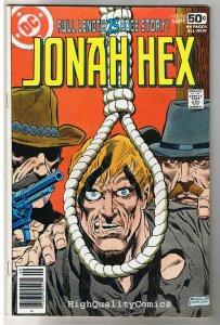 JONAH HEX #16, FN/VF, Scar face, Hang em High, 1977, more JH in store