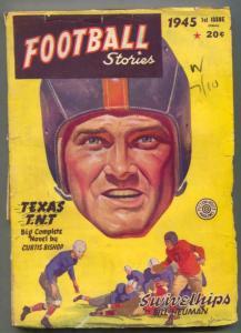 Football Stories Pulp Fall 1945- Texas TNT- Swivelhips G