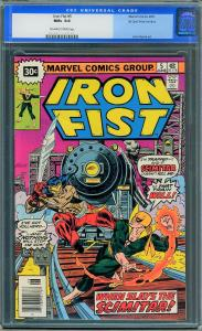 Iron Fist #5 Price Variant (Marvel, 1976) CGC 9.6