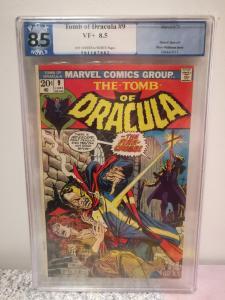 Tomb of Dracula, #9, June 1973