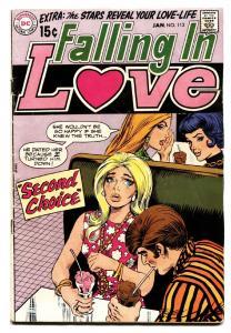 FALLING IN LOVE #112 1969 DC ROMANCE COMIC BOOK