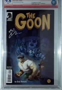 Goon #1 (Jun 2003, Dark Horse) Signed by Eric Powell CBCS 9.8 NM-M