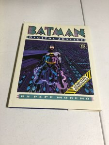 Batman Digital Justice Oversized Hardcover Book Is Nm Dust Cover Has Water Dmg