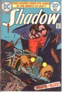 SHADOW (1973) 4 VF+ KALUTA  May 1974 COMICS BOOK