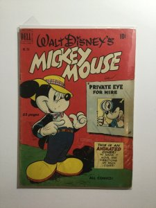 Dell Four Color 296 Good Gd 2.0 Mickey Mouse Dell Publishing