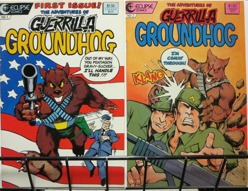 ADVENTURES OF GUERILLA GROUNDHOG 1-2 complete!
