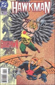 DC HAWKMAN (1993 Series) #11 VF/NM