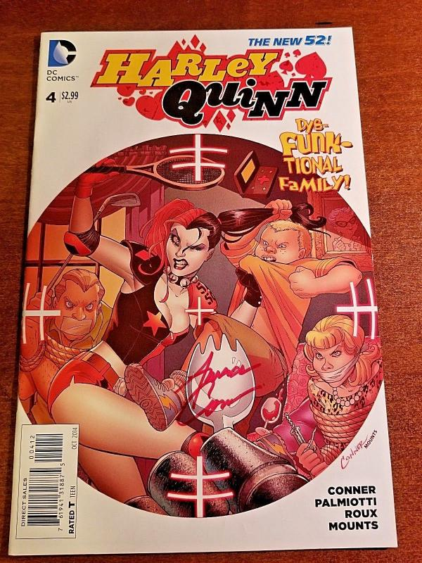 HARLEY QUINN #4 DC NEW 52 NEAR MINT-SECOND PRINTING!!!!
