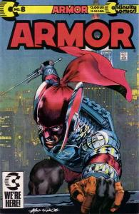 Armor #8 VF/NM; Continuity | save on shipping - details inside