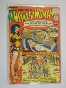 Wonder Woman #198 5.0 VG FN water stain (1972 1st Series)