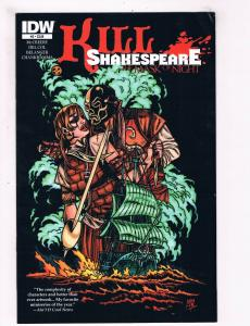 Kill Shakespeare The Mask Of Night # 2 FN/VF 1st Print IDW Comic Book Series S63