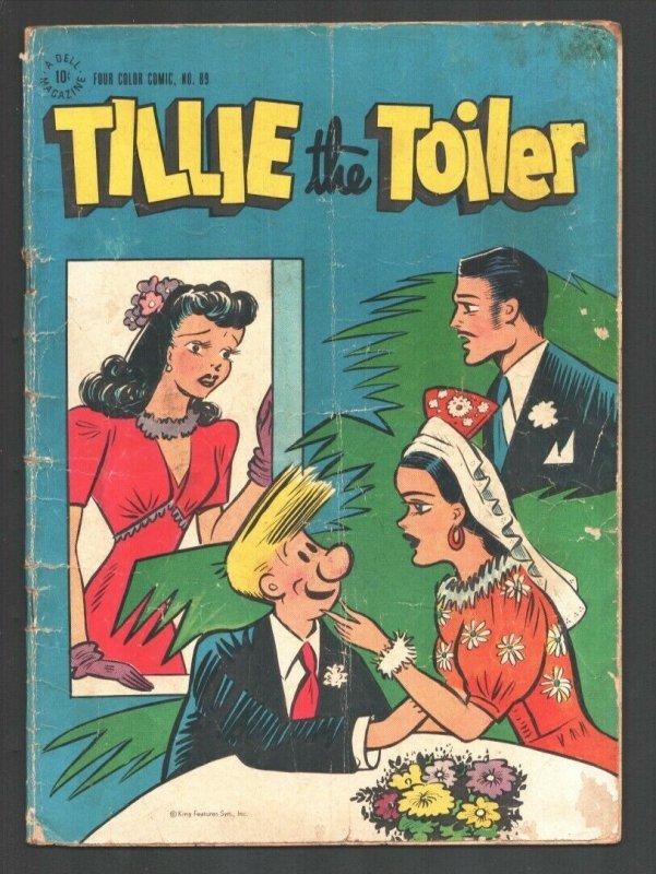 Tillie The Toiler-Four Color Comics #89 1945-Russ Westover newspaper comic st...