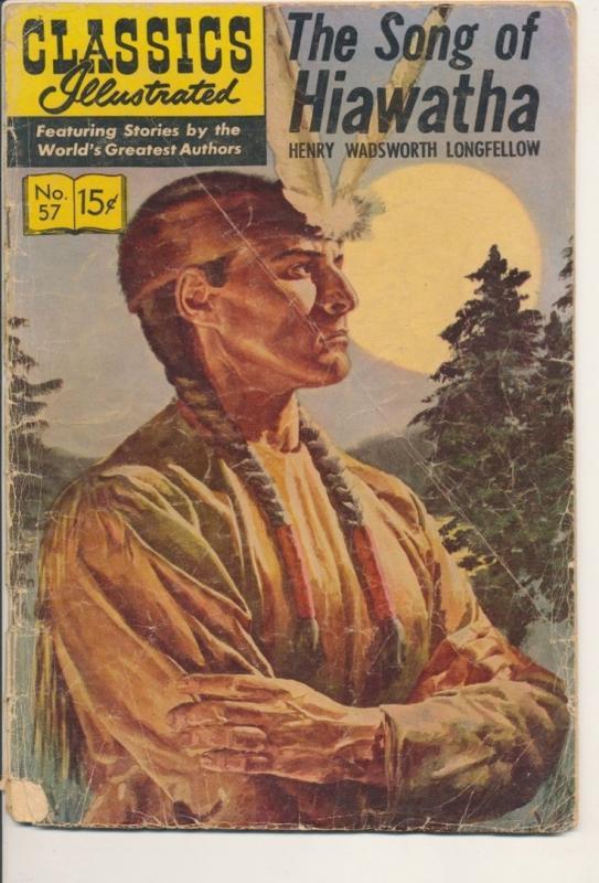 Classics Illustrated Song of Hiawatha Fair/Good (1.5) 1949 (917J)