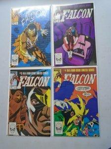 Falcon set #1-4 avg 6.0 FN (1983 1st Series)