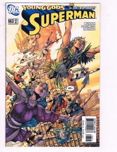 Superman #663 VF DC Comics Comic Book Busiek 2004 DE11