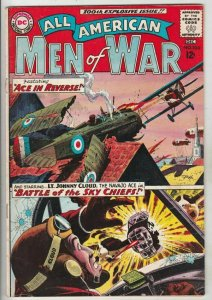 All-American Men of War # 100 Strict FN/VF Mid-High-Grade Johnny Cloud Wow