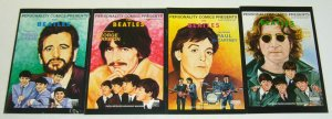 the Beatles #1-4 complete series - john lennon/mccartney/harrison/ringo starr