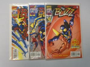 Buzz (2000 Marvel) Set:#1-3, 8.0/VF (2000)