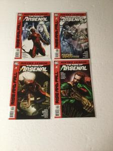 Justice League The Rise And Fall Of Arsenal Complete Series Nm Near Mint Ik