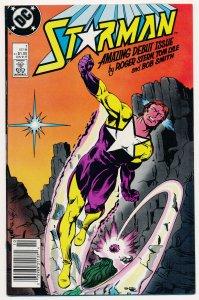 Starman (1988 1st Series) #1 VF