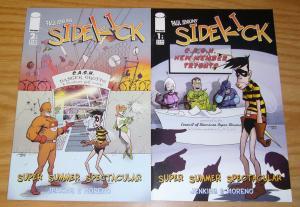 Paul Jenkins' Sidekick Super Summer Spectacular #1-2 VF/NM complete series - set