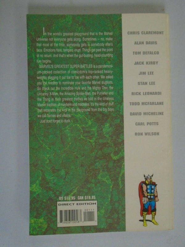Marvel's Greatest Super Battles TPB SC 6.0 FN (1994)