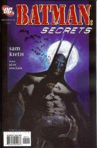Batman: Secrets #5 VF; DC   save on shipping - details inside