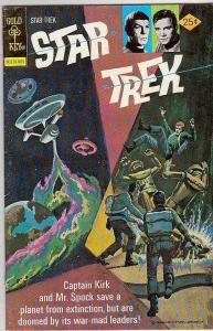 Star Trek #37 (May-76) FN/VF Mid-High-Grade Captain Kirk, Mr Spock, Bones, Sc...