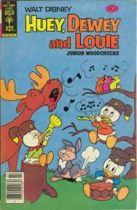 Huey, Dewey, and Louie Junior Woodchucks #61 VF/NM; Gold Key | save on shipping