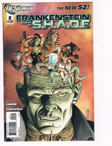 Frankenstein Agent Of Of S.H.A.D.E. # 2 DC Comic Books Hi-Res Scans New 52!! S12