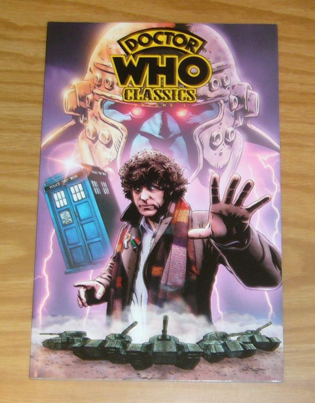 Doctor Who Classics TPB 1 VF/NM pat mills - john wagner - dave gibbons - neary