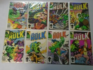 Incredible Hulk lot 35 different from #300-350 avg 8.0 VF (1984-88 1st Series)