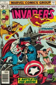 Invaders (1975 series) #15, VG (Stock photo)