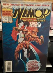 MARVEL COMICS-NAMOR THE SUB-MARINER-#3-WITH TRADING CARDS-GREAT COMICBOOK!!