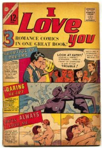 I Love You #61 1966- Charlton Romance Comic- VG